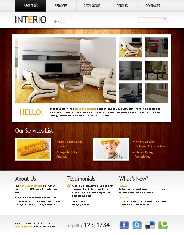 Хорошие сайты по дизайну интерьера
